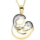 Myra Gold 14 K Altın Anne Çocuk Kolye