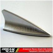 Dreamcar Racer Shark Süs Anten Yapışkanlı Gümüş 8030702