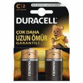 Duracell Alkalin C Orta Boy Pil 2li