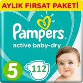 Prima Bebek Bezi Aktif Bebek 5 Beden Junior Aylık Paket 112 Adet