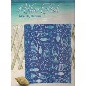 özdilek Nice Blue Fish 70*150 Cm Plaj Havlusu