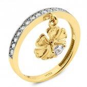 Myra Gold Altın Yonca Yüzük
