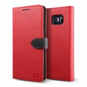 Lıfıc Galaxy Note 5 Saffiano Diary Kılıf Mint