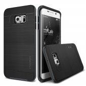 Verus Galaxy S6 Edge Plus High Pro Shield Kılıf Steel Silver