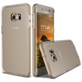 Verus Galaxy S6 Edge Plus Crystal Bumper Kılıf Shine Gold