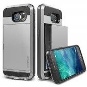 Verus Galaxy S6 Case Damda Slide Kılıf Light Silver