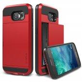 Verus Galaxy S6 Case Damda Slide Kılıf Crimson Red