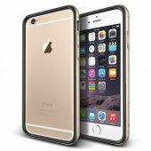 Verus İphone 6 Plus 6s Plus Iron Bumper Kılıf Black Gold
