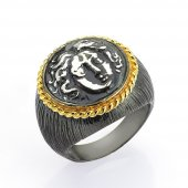 Gümüş Para Yüzük Romin 14