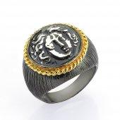 Gümüş Para Yüzük Romin 21