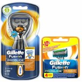 Gillette Fusion Proglide Flexball Power Tıraş Paketi(Tıraş Makinesi + 4lü Bıçak)