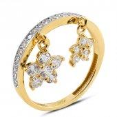 Myra Gold Altın Çiçek Figürlü Yüzük