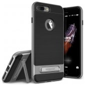 Verus İphone 7 Plus Kılıf High Pro Shield Series Case Steel Silver