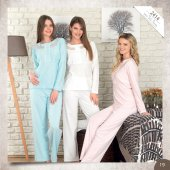 Bh2414 Baha Bayan 2li Pijama Takımı