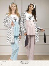 Bh2817 Baha 3lü Pijama Takımı