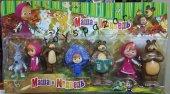 Maşa Ve Ayı, Masha And Bear Oyuncak Set Bebek
