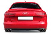 Audi A6 S Line 2012 2015 Arası Makyajsız Kasa Difüzör