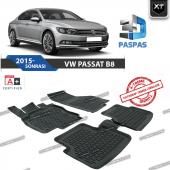 Vw Passat B8 2015 Sonrası Xt 3d Havuzlu Paspas