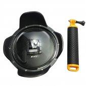 Aksiyon Kamera Su Altı Dome Port 2.0