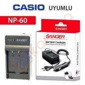 Casio Exilim Zoom Ex Z19pk Şarj Cihazı Şarj Aleti