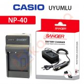 Casio Exilim Zoom Ex Z1200bk Şarj Cihazı Şarj Aleti