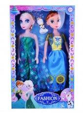 Karlar Ülkesi Frozen Anna & Elsa Bebek Seti (2 Adet)