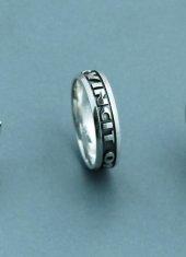 Isme Özel Gümüş Alyans Modelleri
