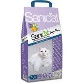 Sanicat Super Plus Lavanta Ve Portakallı Doğal Kedi Kumu 10 Lt