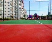Tenis Sahası Akrilik Zemin Yapımı 300 M2