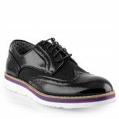 Conteyner Erkek Günlük Rugan Ayakkabı