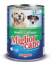 Miglior Yetişkin Köpek Konservesi Biftekli&sebzeli 405 Gr
