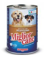 Miglior Yetişkin Köpek Konservesi Av Hayvanı Taneli 405 Gr