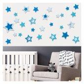 Dp 1505b Yıldızlar Eva Sticker, Çocuk Odası Duvar Sticker, 3d Duv