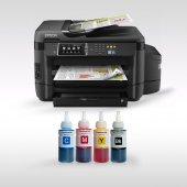 Epson L1455 Photoınk Mürekkepli Yazıcı Bitmeyen Kartuşlu A3 Yazıcı (1 Sayfa Renkli Baskı 0,02 Tl)