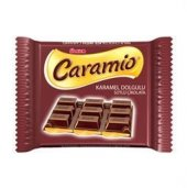 ülker Caramio Karamel Dolgulu Tablet Çikolata