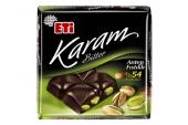 Eti Karam Bitter 54 Kakaolu Antep Fıstıklı Tablet Çikolata 75 G