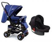 Diamond Baby P 101 Çift Yönlü Travel Sistem Bebek Arabası 6 Renk Ayak Örtüsü Yağmurluk Dahil
