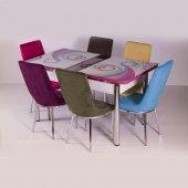Mutfak Masa Sandalye Takımı Açılır Masalı