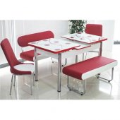 Bank Takımı Açılır Masalı Banklı Masa Takımı Mutfak Masası