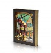 Purupa Box Frame Sokak Dekoratif Obje Hediyelik