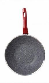 Karaca Red Silver Bio Granit 28 Cm Wok Tava