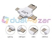 Earldom 4 İn 1 Type C Micro Usb Otg İphone 7 Android