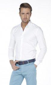 Online Likralı Erkek Klasik Gömlek