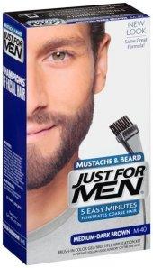 Just For Men Sakal Bıyık Boyası Orta Koyu Kahve M 40