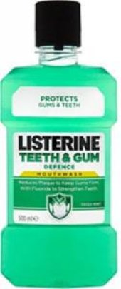 Listerine Teeth Gum Defence Ferah 500 Ml Gargara (Ferah Nane)
