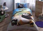 Taç Lisanslı Nevresim Takımı Kung Fu Panda Movie Tek Kişilik