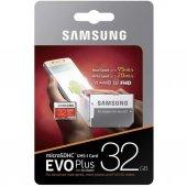Samsung 32gb Evo Plus Micro Sd Hafıza Kartı C10 U1 95mb S