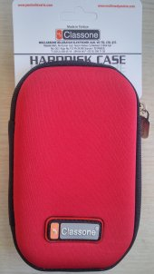 Classone Hd2001 2.5 İnc Kırmızı Harddisk Taşıma Çantası