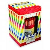 Pensan 1010 Ofispen Tükenmez Kalem 60 Adet Kırmızı Renk