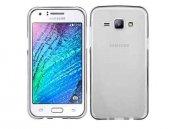 Samsung Galaxy J7 Silikon Kılıf + Kırılmaz Cam